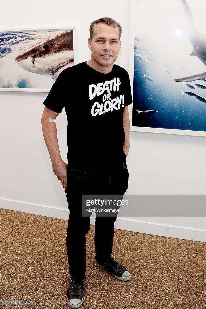 "TASCHEN Hosts Opening Reception For Michael Muller's Book ""Shark"""