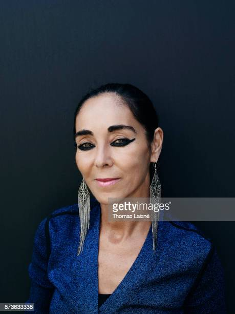 Artist Shirin Neshat is photographed for Self Assignment on September 2017 in Venice Italy