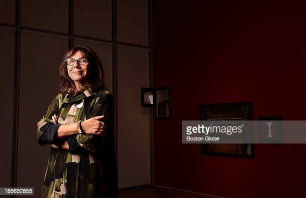 Artist Sophie Calle at the Isabella Stewart Gardner Museum She currently has an exhibit on display Last Seen inspired by the 1990 art theft