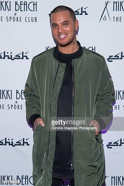 Artist Stan Walker of 'Born to Dance' attends Stan WalkerÕs performance of his new single 'Start Again' during 2015 TIFF at Nikki Beach on September...