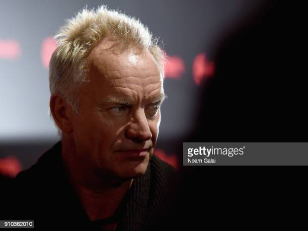 Artist Sting attends 'Spotify's Best New Artist Party' at Skylight Clarkson on January 25 2018 in New York City