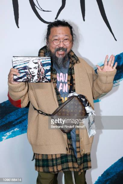 Artist Takashi Murakami attends the Dior Homme Menswear Fall/Winter 20192020 show as part of Paris Fashion Week on January 18 2019 in Paris France