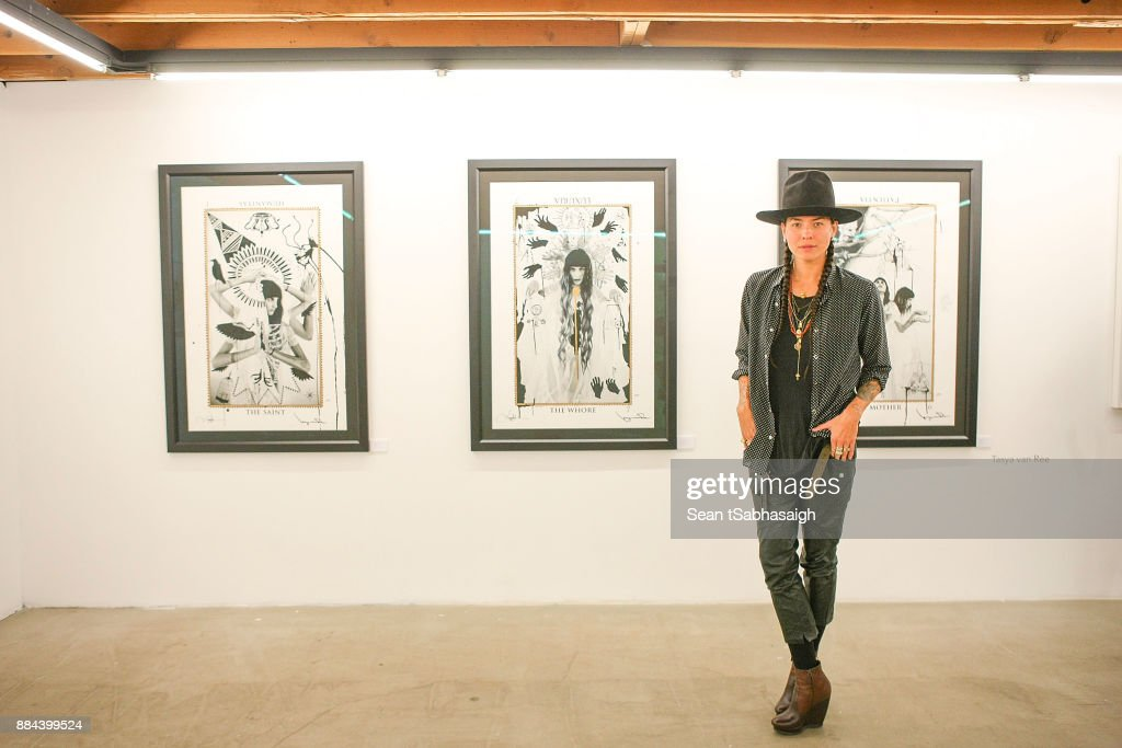 OptiMystic: A Brandon Boyd Pop Up Gallery Featuring He, Tasya Van Ree, Natalie Bergman, Diana Garcia And DJ Set By Brent Bolthouse