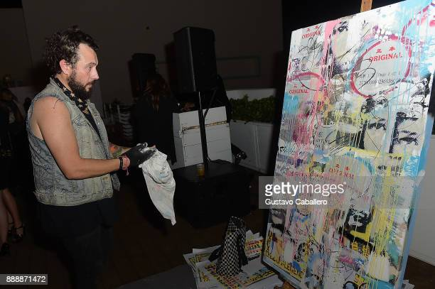 Artist Tiago Magro attends Rosario Dawson Hosts The Launch Of Photo Butler At Art Basel With Anna Rothschild And Claudine De Niro at Soho House Miami...