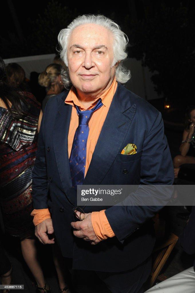 Artist Tony Shafrazi attends DuJour Magazine's event to honor artist Marc Quinn at Delano South Beach Club on December 4, 2013 in Miami Beach, Florida.