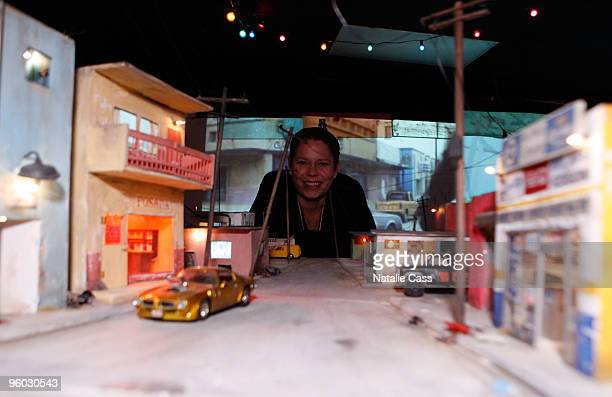 Artist Tracey Snelling attends the Unveiling of the Creative Potential during the 2010 Sundance Film Festival at Sundance House on January 22 2010 in...