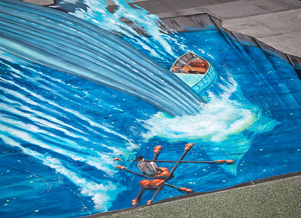 renowned d artist recreates iconic scene from artist tracy lee stum s recreation of an iconic scene from life of pi in