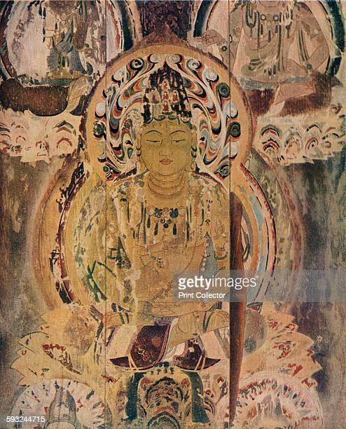 Artist Unknown 'A painting on the core pillar of the Pagoda at the Daigoji Monastery' circa 13th century The fivestorey pagoda at Daigoji temple was...