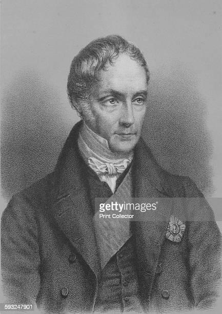 Artist Unknown George Hamilton Gordon 4th Earl of Aberdeen British statesman circa 1843 From William Ewart Gladstone and His Contemporaries Vol II...