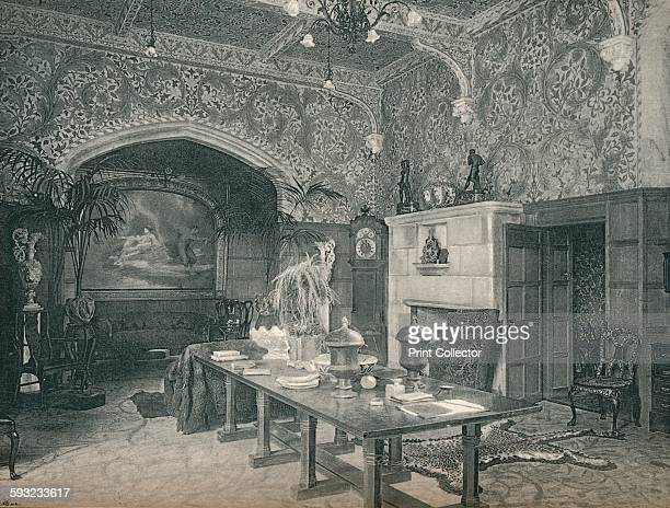 Artist Unknown 'The Entrance Hall of Stanmore Hall' circa 1891 Decorated by William Morris and Co From The Studio Volume 1 [London Offices of the...