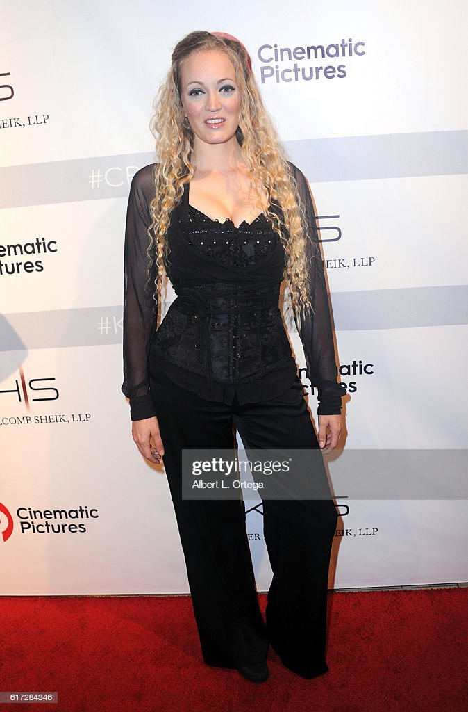 Artist Whitton at the Launch Of Cinematic Pictures Gallery held at Hollywood And Highland Center on October 21, 2016 in Los Angeles, California.