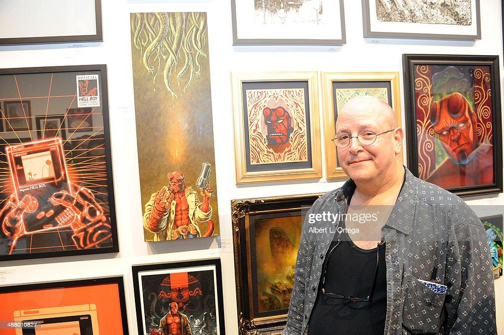 Hellboy 20th Anniversary Art Show : News Photo