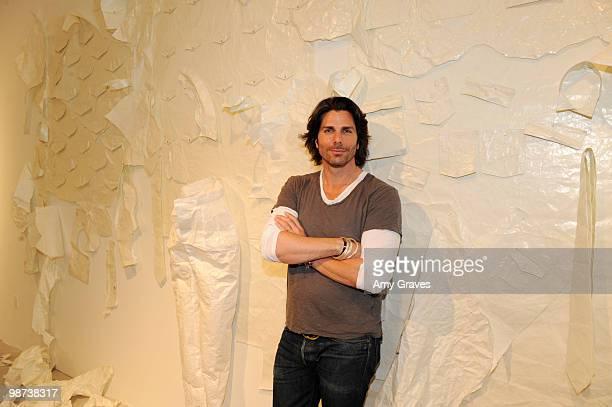Artist/designer Greg Lauren attends Greg Lauren Presents Alteration Art on April 28 2010 in Los Angeles California