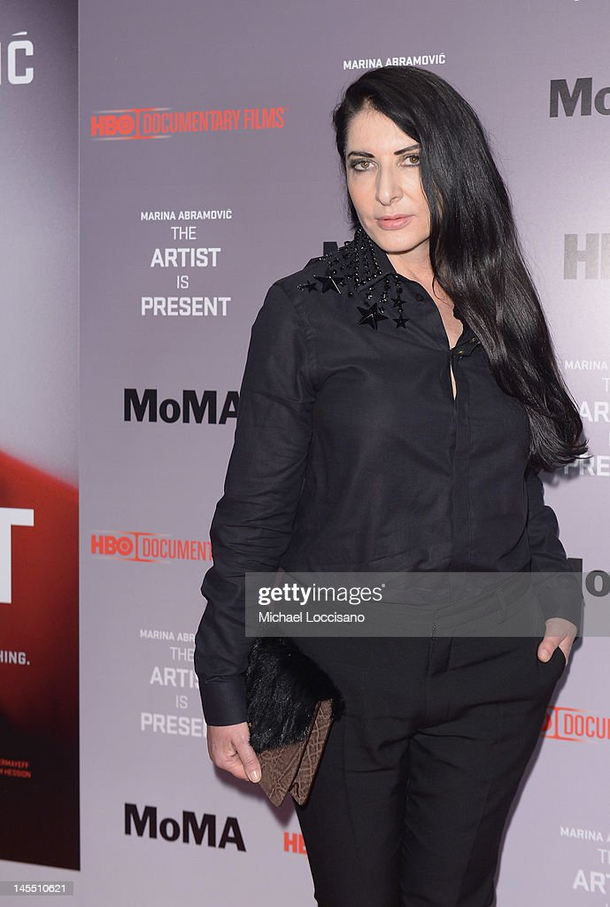 Hbo documentary screening of artistfilm subject marina abramovic attends the hbo documentary screening of marina abramovic thecheapjerseys Image collections