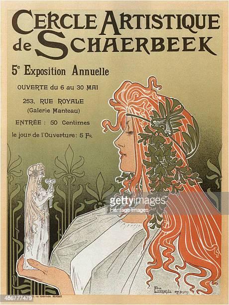 Artistic Club of Schaerbeek 5th annual show 1897 Artist PrivatLivemont Henri