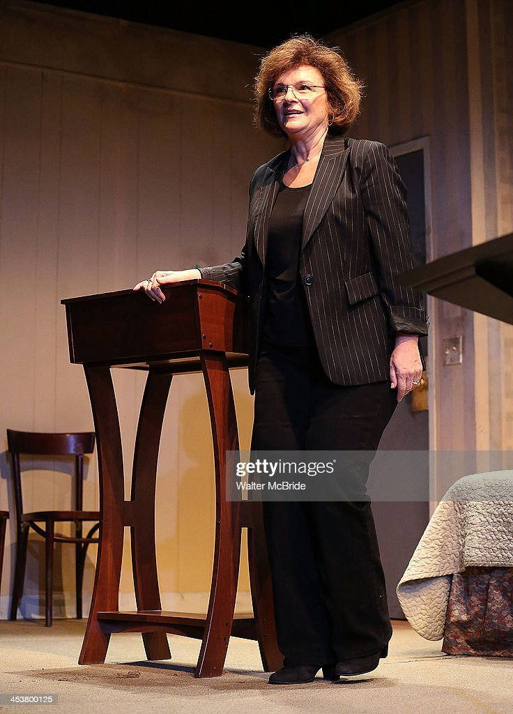 Artistic Director Angelina Fiordellisi attends Cherry Lane Theatre's 'Mentor Project 2014' 16th anniversary celebration at Cherry Lane Theatre on December 4, 2013 in New York City.
