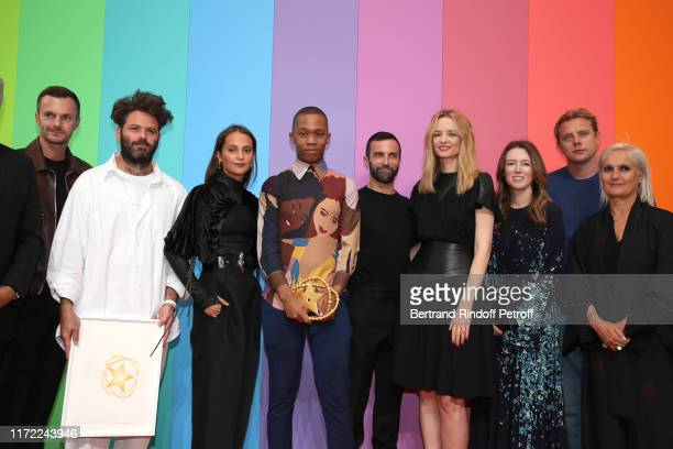 Artistic director at Berluti Kris Van Assche, Karl Lagerfeld Prize Hed Mayner, Alicia Vikander, LVMH Prize 2019 Thebe Magugu, stylist of Louis...