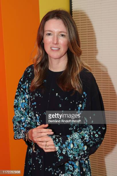 Artistic director at Givenchy Clare Waight Keller attends the LVMH Prize 2019 Edition at Louis Vuitton Foundation on September 04, 2019 in Paris,...