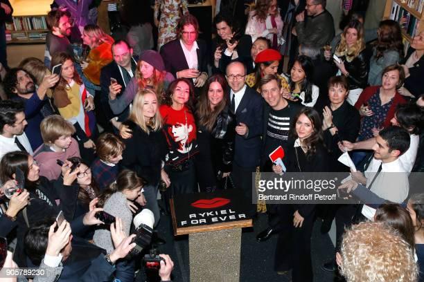 Artistic Director at Sonia Rykiel Julie de Libran Nathalie Rykiel CEO of Sonia Rykiel JeanMarc Loubier with his wife Hedieh Loubier General Director...