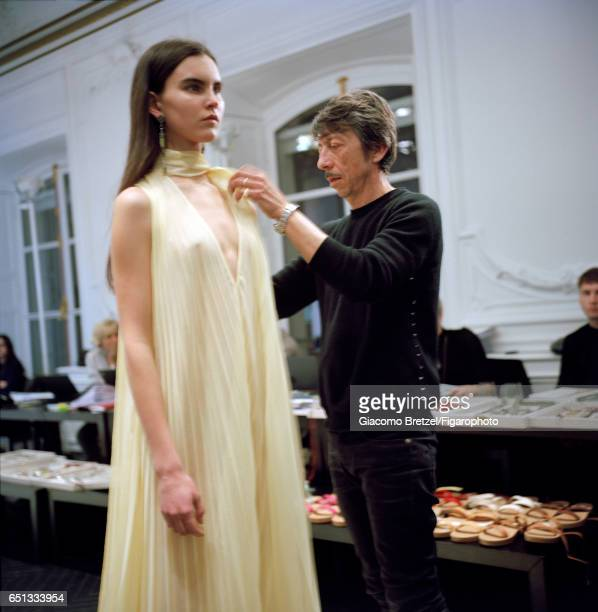 Artistic director at Valentino Pierpaolo Piccioli is photographed for Madame Figaro on January 30 2017 in Paris France PUBLISHED IMAGE CREDIT MUST...