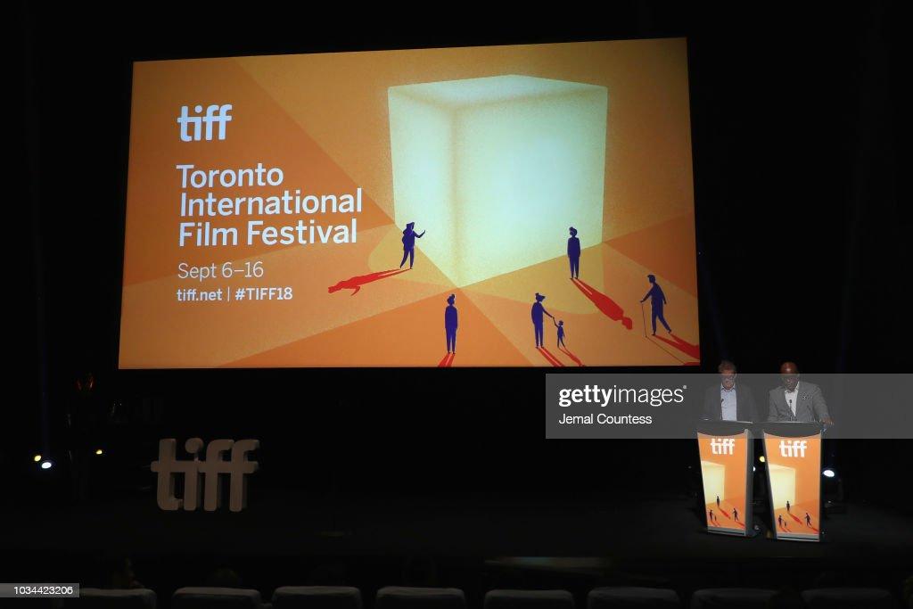 CAN: 2018 Toronto International Film Festival Awards Ceremony