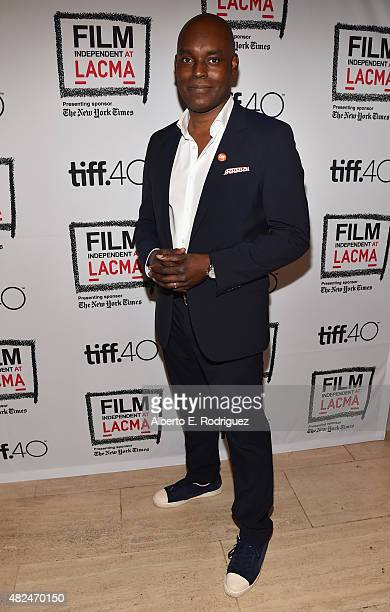 Artistic Director Cameron Bailey attends Film Independent at LACMA presents CAN/LA opening night at Bing Theatre At LACMA on July 30 2015 in Los...