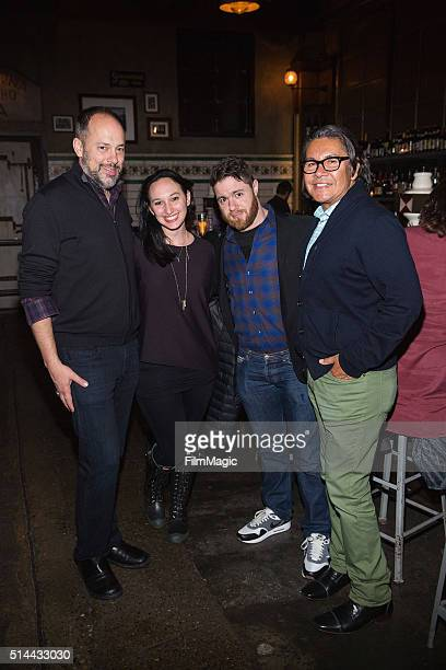 SIFF Artistic Director Carl Spence Producer Carly Hugo Filmmaker Jacob Bernstein and HBO Director of Corporate Affairs and Regional PR David Castro...