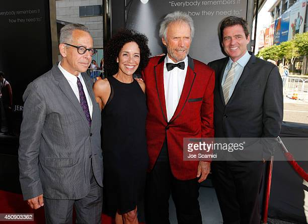 Artistic director David Ansen, Los Angeles Film Festival director Stephanie Allain, director/producer Clint Eastwood and Film Independent President...