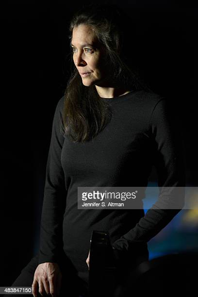 Artistic director Diane Paulus is photographed for Boston Globe on April 8 2015 in New York City