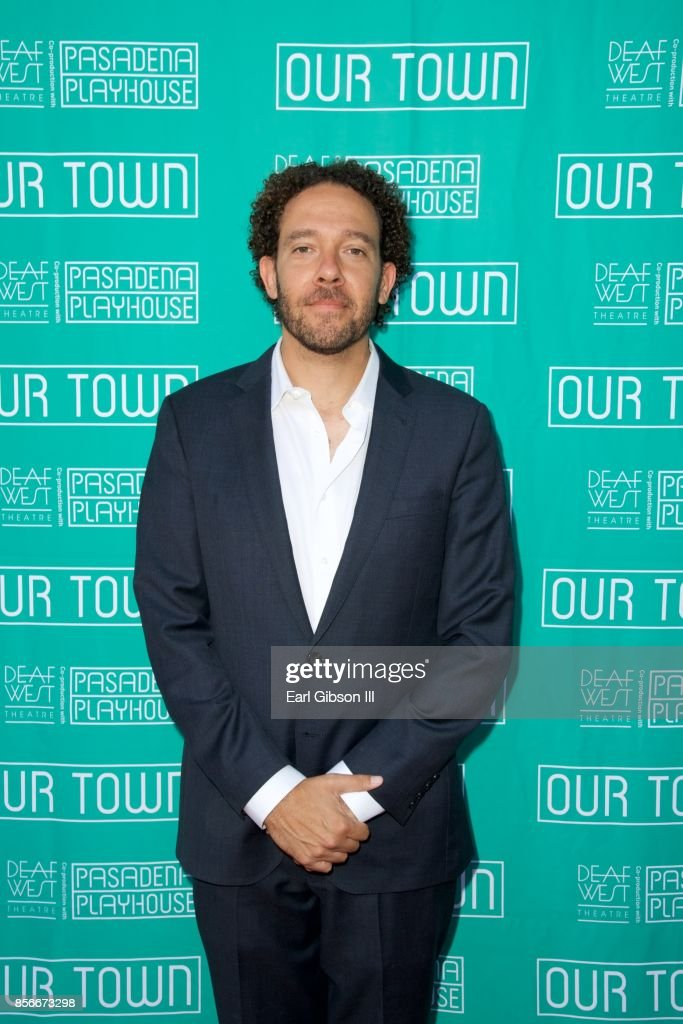 Artistic Director DJ Kurs attends the Pasadena Playhouse And Deaf West Theatre's 'Our Town' Opening Night at Pasadena Playhouse on October 1, 2017 in Pasadena, California.