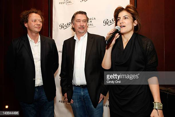 Artistic Director for Tribeca Film Festival Frederic Boyer Chief Creative Officer for Tribeca Enterprises Geoffrey Gilmore and Tribeca Film Festival...