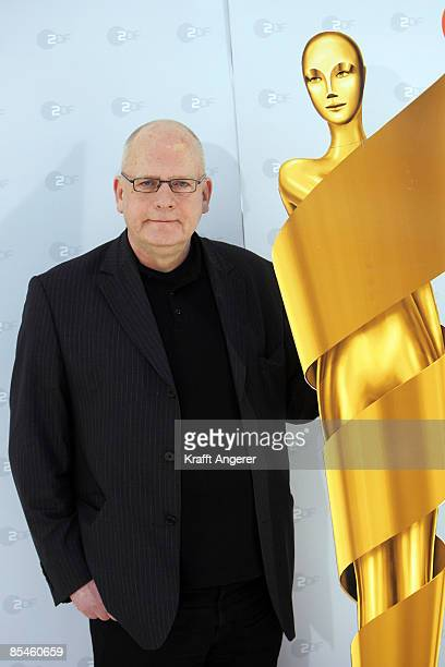 Artistic director HansChristoph Blumenberg poses during the photo call of the German Movie Award on March 17 2009 in Hamburg Germany Barbara...
