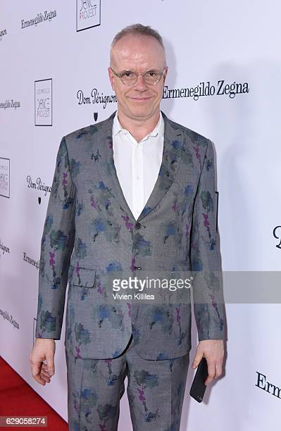 Artistic director HansUlrich Obrist attends the 2016 Los Angeles Dance Project Gala at The Theatre at Ace Hotel Downtown LA on December 10 2016 in...