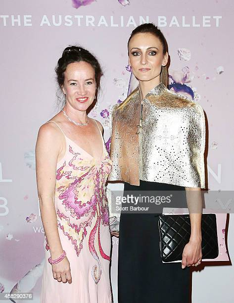 Artistic Director Lucinda Dunn and Olivia Bell former Principal Artist attend the Australian Ballet's 'The Sleeping Beauty' opening night at Arts...