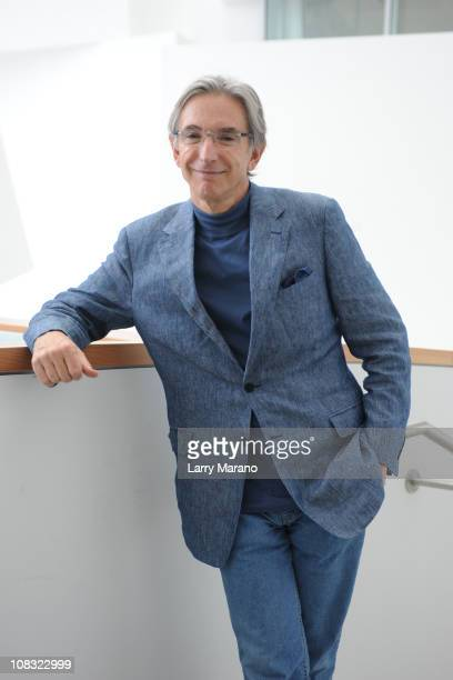 Artistic Director Michael Tilson Thomas attends the preview of the New World Center at New World Center on January 25, 2011 in Miami Beach, Florida.