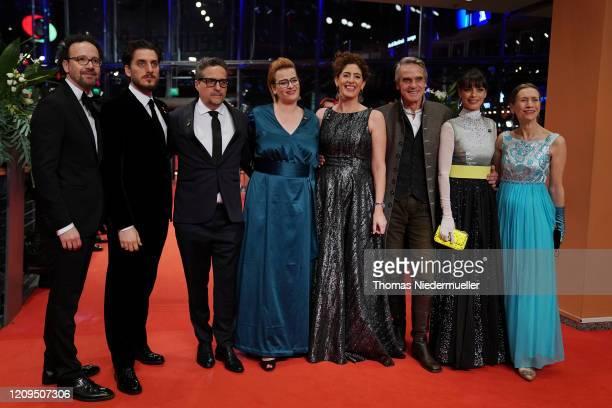 Artistic Director of Berlinale Carlo Chatrian, International Jury members Luca Marinelli, Kleber Mendoca Filho, Bettina Brokemper, Annemarie Jacir,...