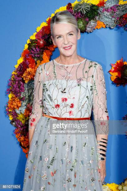 Artistic Director of Delvaux Christina Zeller attends the Opening Season Gala Ballet of Opera National de Paris Held at Opera Garnier on September 21...