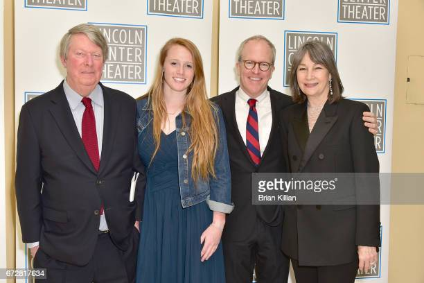 Artistic Director of Lincoln Center Andre Bishop Katie BishopManning Peter Manning and Brooke Neidich attend the 2017 Lincoln Center Theater Benefit...