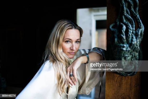 Artistic director of Sonia Rykiel Julie de Libran is photographed for Madame Figaro on July 18 2017 in Paris France PUBLISHED IMAGE CREDIT MUST READ...