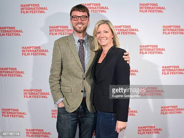 Artistic Director of the Hamptons International Film Festival David Nugent and Executive Director of the Hamptons International Film Festival Anne...