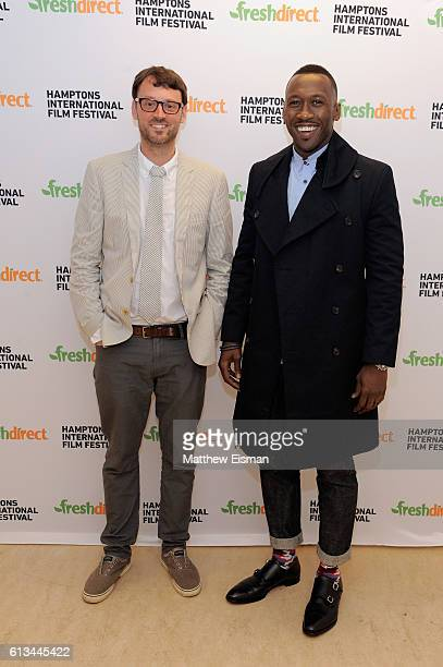 Artistic Director of the Hamptons International Film Festival David Nugent and Actor Mahershala Ali attend the Moonlight screening during the...
