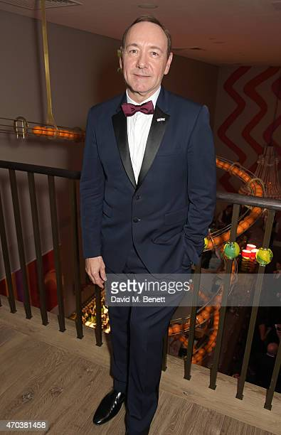 Artistic Director of The Old Vic Kevin Spacey arrives at Ham Yard Hotel for the After Party of The Old Vic's A Gala Celebration in Honour of Kevin...