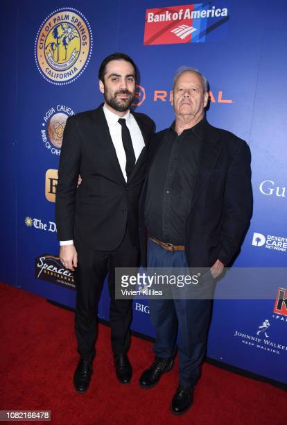 Artistic director of the Palm Springs International Film Festival Michael Lerman and Bruce Beresford attend the Closing Night Screening of 'Ladies In...