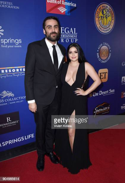 Artistic director of the Palm Springs International Film Festival Michael Lerman and Ariel Winter attend the 29th Annual Palm Springs International...