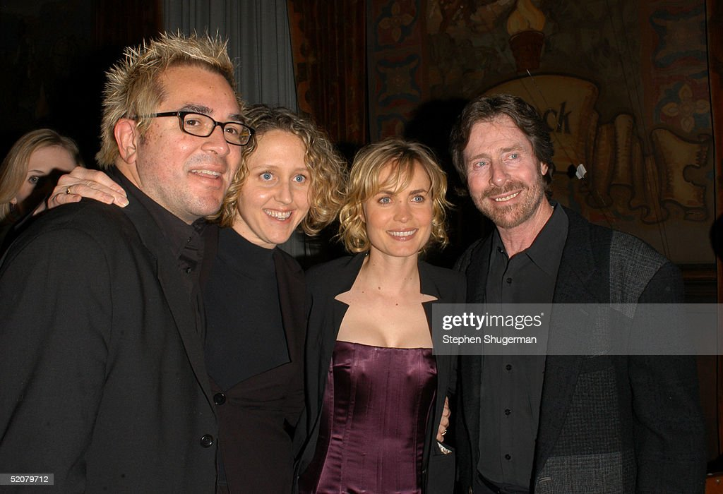 Artistic Director Roger Durling, actress Brooke Smith, actress Radha Mitchell and President, Board of Directors Arnold D. Kassoy attend the Santa Barbara Film Festival Opening Night Gala after party at the Santa Barbara Court House on January 28, 2005 in Santa Barbara, California.