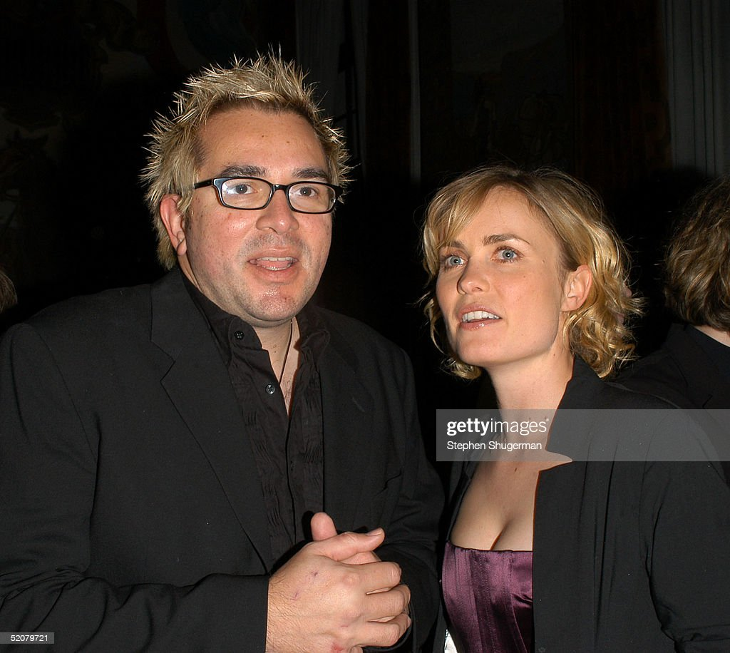 Artistic Director Roger Durling and actress Radha Mitchell attend the Santa Barbara Film Festival Opening Night Gala after party at the Santa Barbara Court House on January 28, 2005 in Santa Barbara, California.
