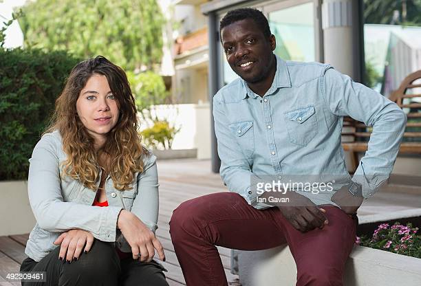 Artistic director Salome Blechman and director Djinn Carrenard pose for the 'Faire L'amour' Portrait Session during the 67th Annual Cannes Film...