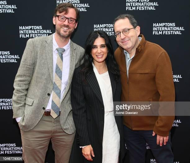 Artistic Director to Hamptons International Film Festival David Nugent director Nadine Labiki and Michael Barker attend the photo call for Capernaum...
