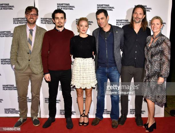 Artistic Director to Hamptons International Film Festival David Nugent director Damien Chazelle actress Olivia Hamilton screenwriter Josh Singer...