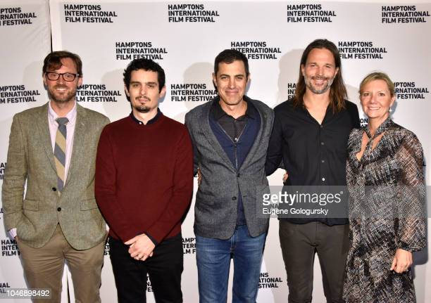Artistic Director to Hamptons International Film Festival David Nugent director Damien Chazelle screenwriter Josh Singer cinematographer Linus...